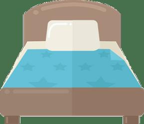 Cartoon bed clipart Free download transparent PNG Creazilla