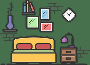 Bedroom Clipart Free Download Transparent PNG or Vector Creazilla