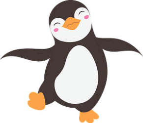 penguin clipart creazilla transparent