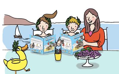 Histoire et recettes de bonheur pour réviser en famille