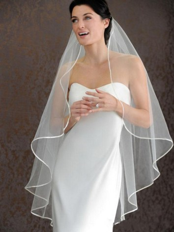 New-Hot-Sale-Highest-Quality-1-Meters-Hips-Length-One-Layer-Ribbon-Edge-Long-White-Ivory