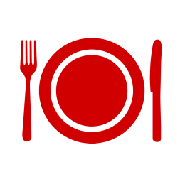 clipart cooking dinner wellness kitchen plate classes cook icons staff demonstrations transparent well campus buttons programs events demo webstockreview nebraska