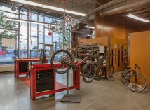 Bike Shop Interior Design