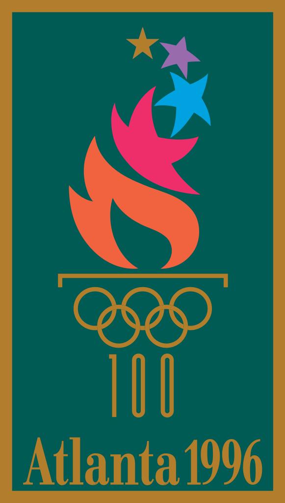 Cartel de los Juegos Olímpicos de Atlanta, 1996
