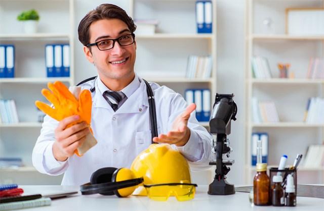 Salud Ocupacional en la industria, primeros auxilios, bridadas de emergencias
