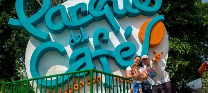Parque Nacional del Café colombiano. De la planta a la taza!!!
