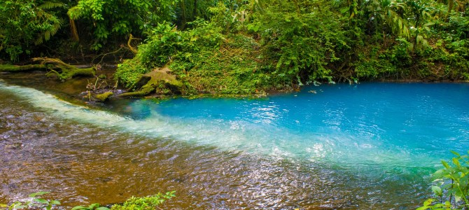 Descubriendo Rio Celeste, Puente de las Iguanas y Lago Arenal en Costa Rica!!!