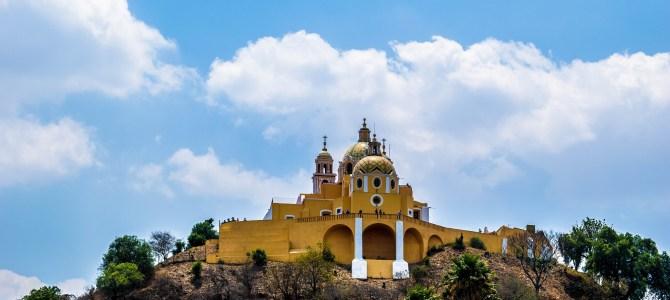 Puebla y San Andrés de Cholula, las ciudades mexicanas de las iglesias!!!