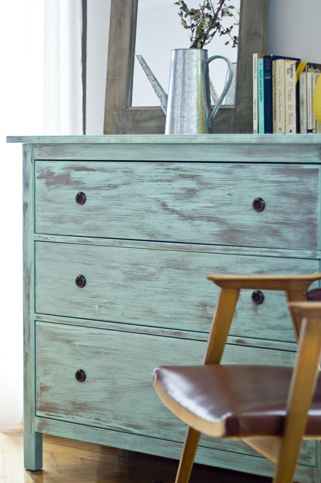 Muebles pintados muebles floreados  creciendoentreflores