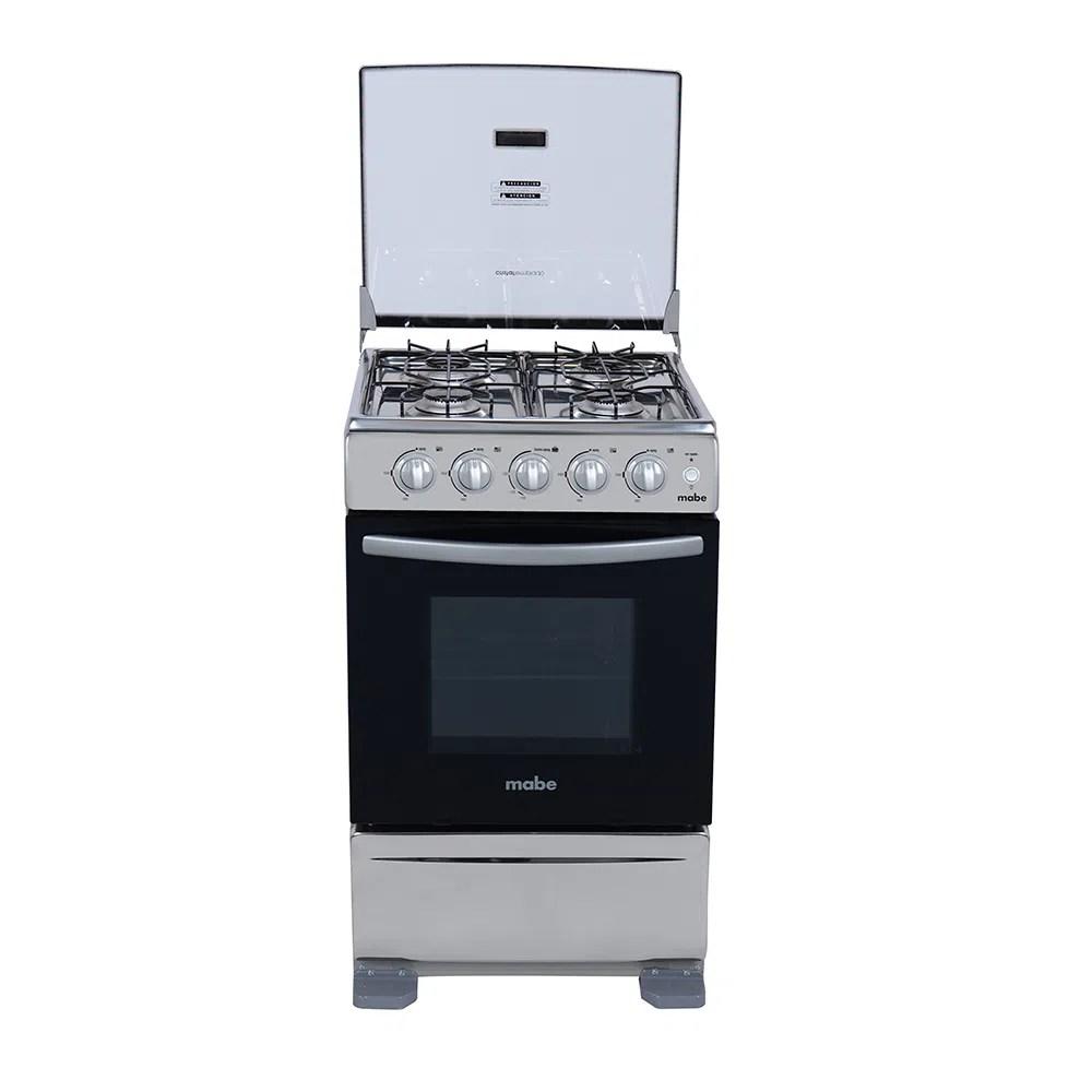 Cocina a gas 51cm Inox Mabe  TX5120EX1  creditoseconomicos