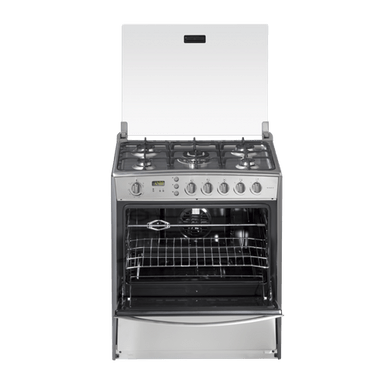 Cocina 32 a Gas Indurama MONACO QUARZO PLUS CROMA MON036