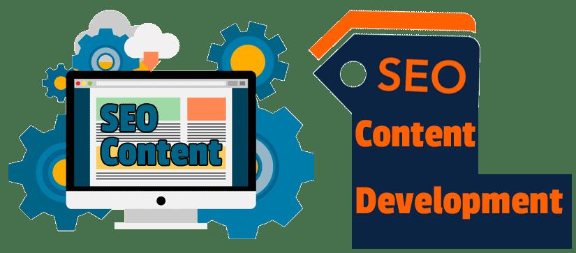 SEO content development - Improve your organic search engine rankings