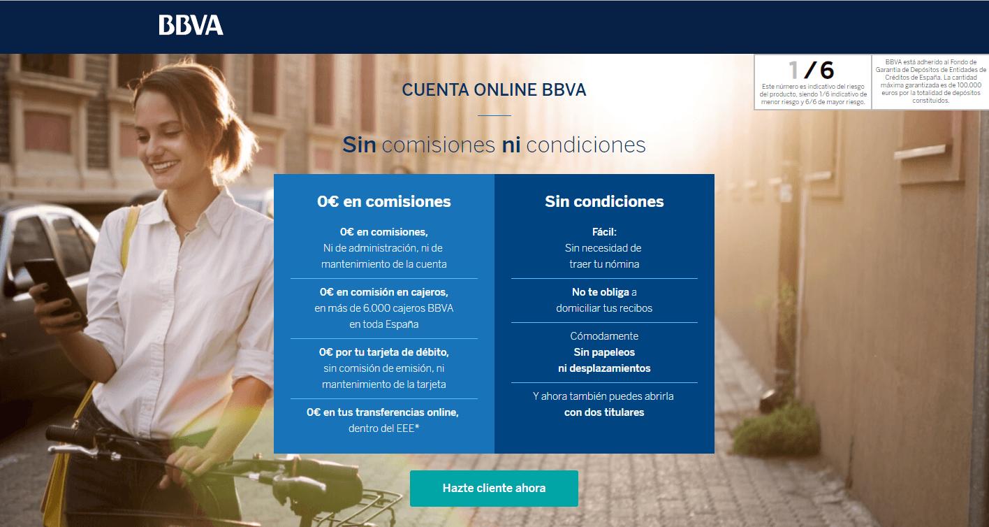 bbva cuenta online