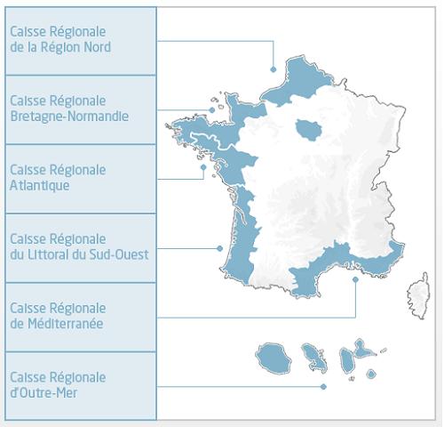 crédit maritime caisse régionale