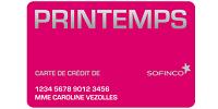carte printemps sofinco