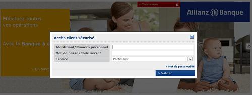 espace client allianz banque connexion
