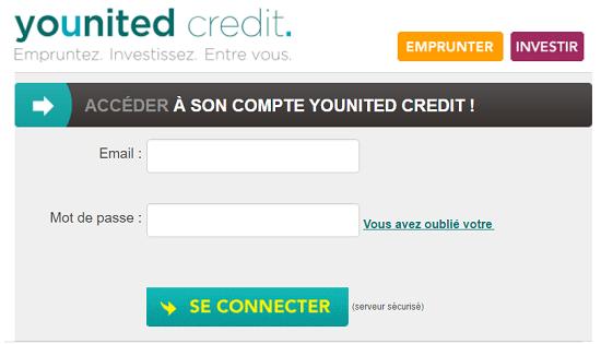 accès mon compte younited crédit