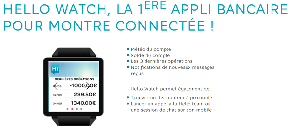 Hello Watch sur ma montre connectée