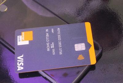 carte visa Orange bank