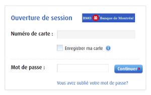 mon compte BMO Online