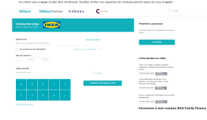 IKEA Family finance Mon Compte