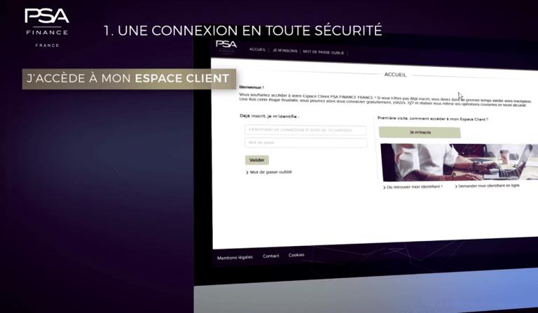PSA Finance-France fr espace client