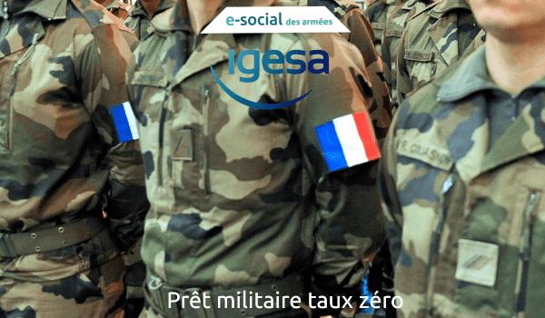 Prêt militaire taux zéro