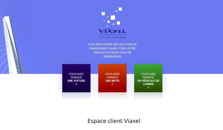 espace client Viaxel