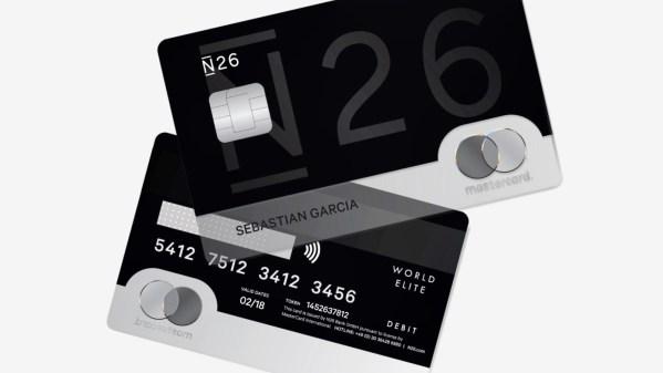 n26 card aanvragen