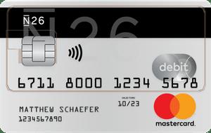 N26 mastercard debit creditcard aanvragen 300x190