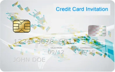 Credit Card Invitation