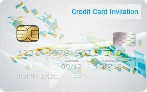 Credit Card Invitation Logo