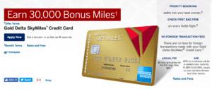 American Express Delta Bonus