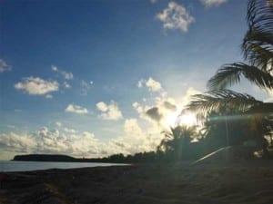 Sunset at Sun Bay Vieques, Puerto Rico