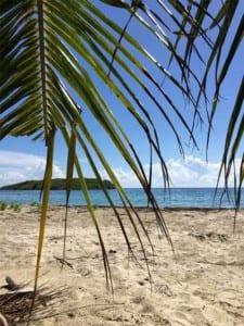 La Chiva Beach in Vieques, Puerto Rico