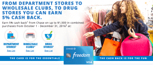 Chase Freedom Offer