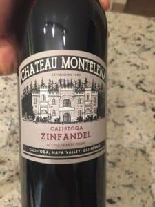 wine label napa valley