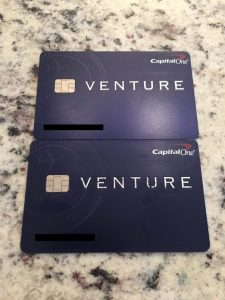 Capital One Venture cards