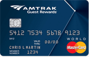 Amtrak Credit Card from Bank of America