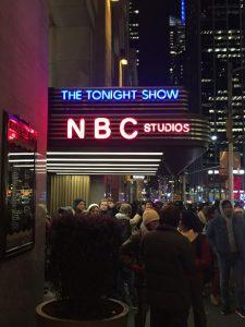Tonight Show at NBC Studios