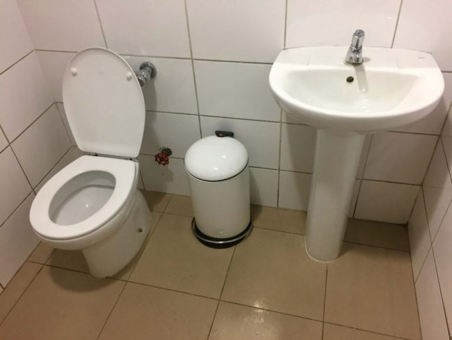 Salones VIP Pacific Club bathroom
