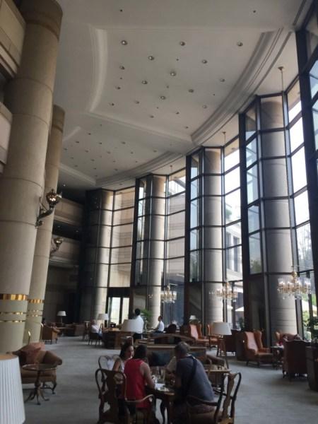 Grand Hyatt Santiago lobby
