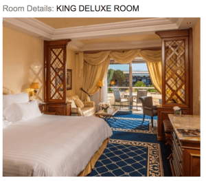 King Room Waldorf Astoria Rome Cavalieri