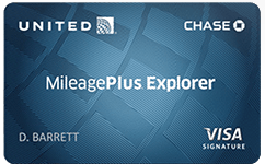 Chase United MileagePlus Explorer