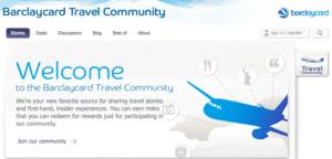 Barclaycard Travel Community