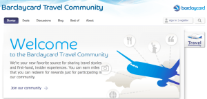 Barclaycard Travel Community