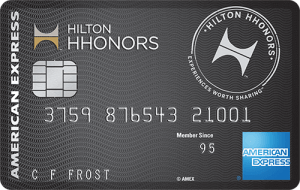 Hilton Honors Surpass from American Express
