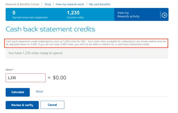 Barclaycard redemption