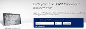 Amex Platinum Mail Offer