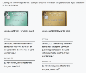 Amex Business Green Offer
